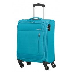 Valise American Tourister Heat Wave 55cm Sporty Blue Maroquinerie Lika
