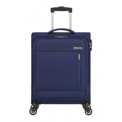 Valise American Tourister Heat Wave 55cm Combat Navy Maroquinerie Lika