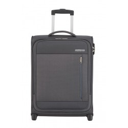 Valise American Tourister Heat Wave 55cm Charcoal Grey Maroquinerie lika