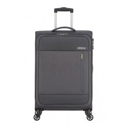 Valise American Tourister Heat Wave 68cm Charoal Grey Maroquinerie Lika