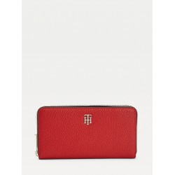Portefeuille Tommy Hilfiger TH Essence Corp Arizona Red Maroquinerie lika